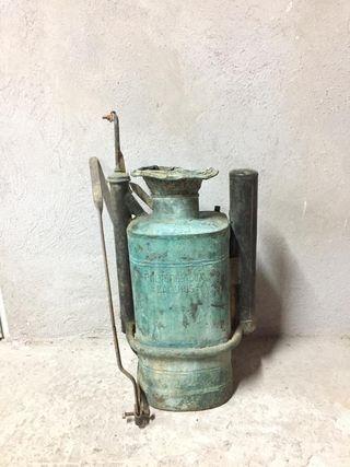 Maquina de ensulfatar antigua