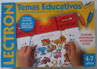 """Lectron """"Temas educativos"""" juego de mesa infantil"""