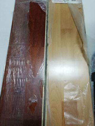 parquet de madera natural