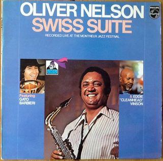 "OLIVER NELSON ""SWISS SUITE"" LP"