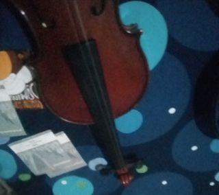 violin Con funda completo