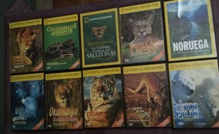 Documentales DVD National Geographic