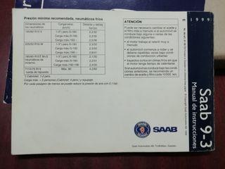 SAAB 93 manual de instrucciones