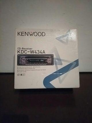 Radio cd nueva para coche, marca KENWOOD.