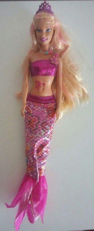 Muñeca Barbie sirena