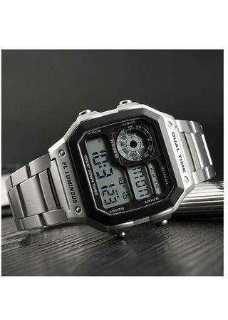 Reloj digital Skmei de acero inoxidable