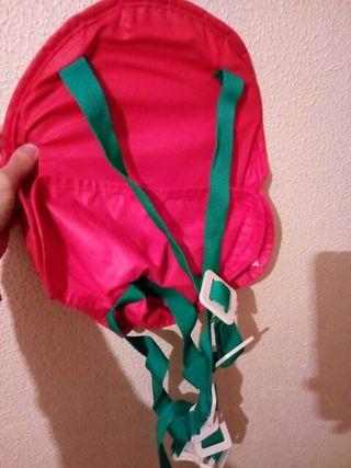 bolsa para colgar al muñeco