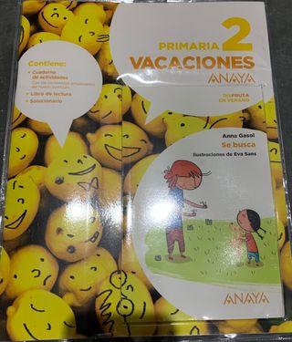 Libros de vacaciones. Primaria. ANAYA