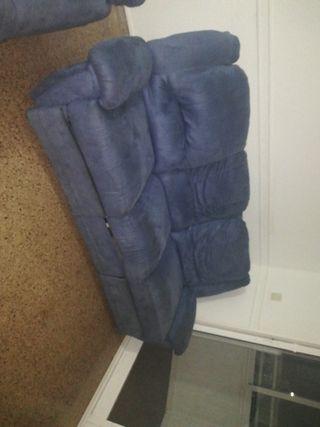 Sofá de 5 plazas reclinables