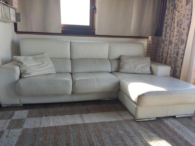 Sofá de Polipiel Blanco