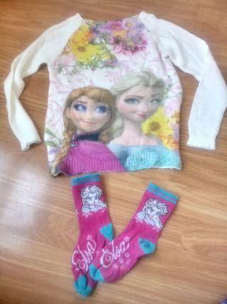 jersey y calcetines talla 5