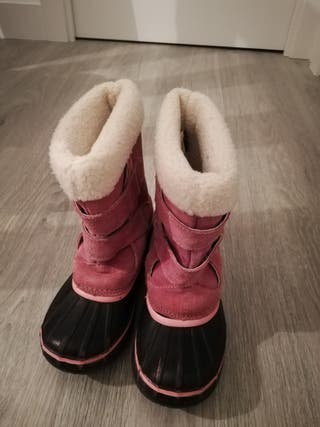 Botas de nieve talla 34