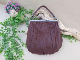 Marca Bimba y Lola bolso de piel marrón