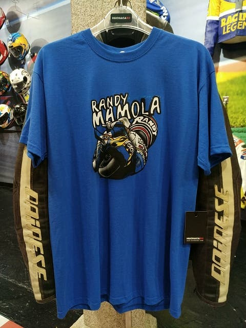 camiseta randy mamola nueva
