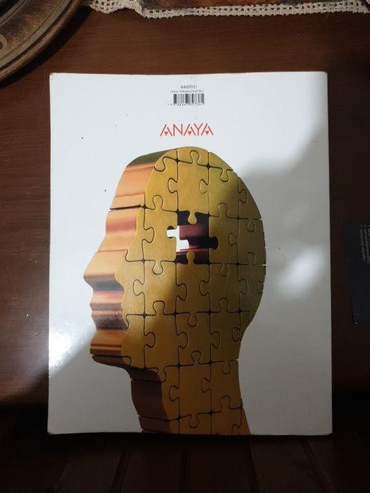 Libro Filosofía 1° BACHILLERATO ANAYA