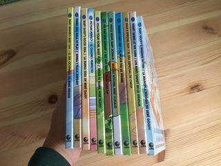 Libros bilingües castellano/inglés