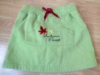falda talla 4