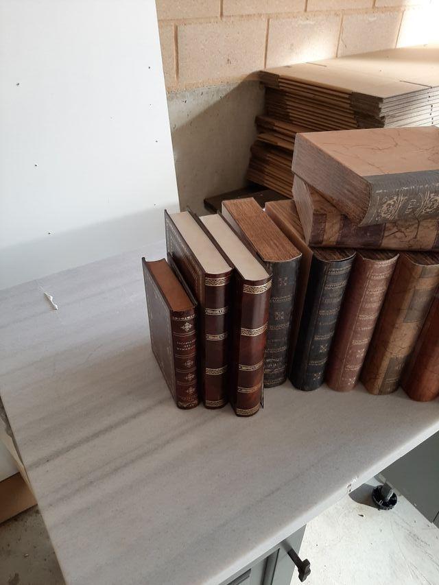 libros para decorar