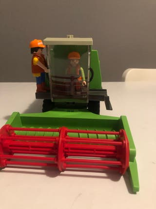 Cosechadora playmobil