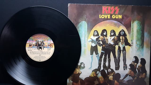KISS LOVE GUN LP VINILO