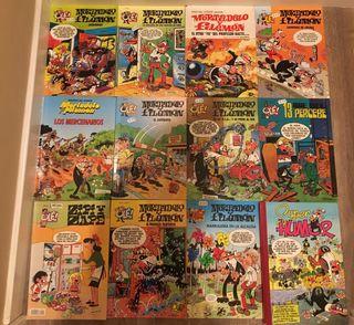 Libros Mortadelo y Filemón pack de 13
