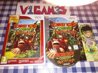 Donkey Kong returns wii en Español