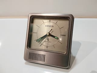 Antiguo Reloj Despertador Citizen Quartz Vintage