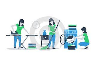 Limpieza general y Planchado