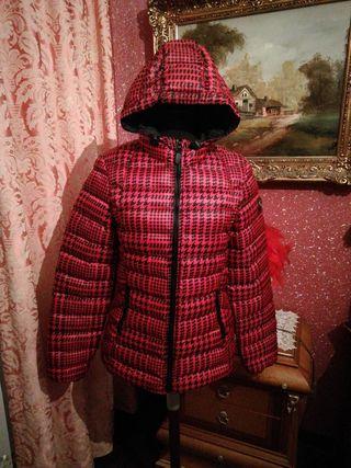 Cazadora NUEVA biker chaqueta abrigo talla 36 S