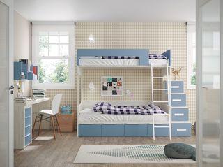 Dormitorio Infantil con Litera y Doble litera
