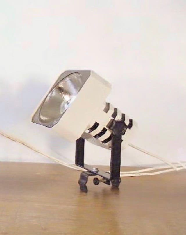Foco de luz Lámpara de techo Años 60 Vintage