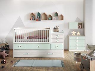 Dormitorio Infantil Cuna Convertible