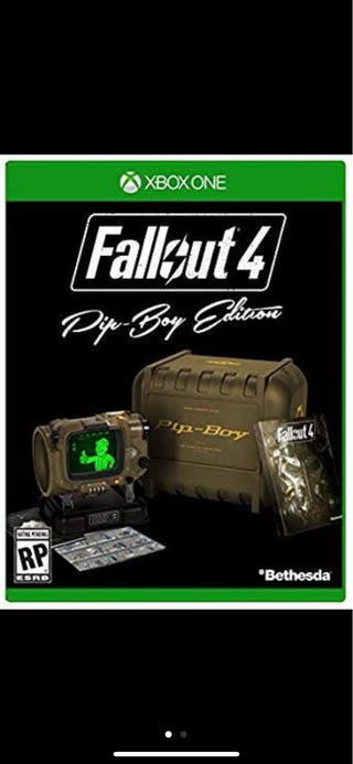 Fallout 4 xbox one pip boy edition sin juego