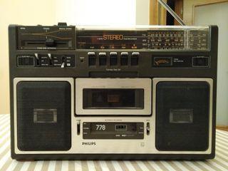 Radio cassette Philips AR 778