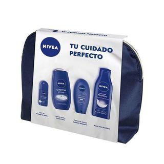 NIVEA SET CUIDADO PERFECTO NECESER + 4 UDS