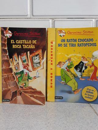 Libros Infantiles GERÓNIMO STILTON