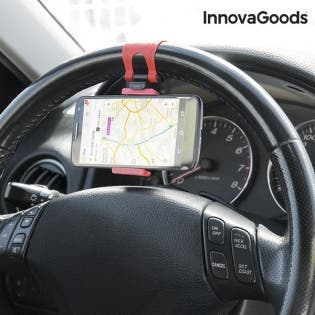 soporte de móviles para volantes de coche InnovaGo