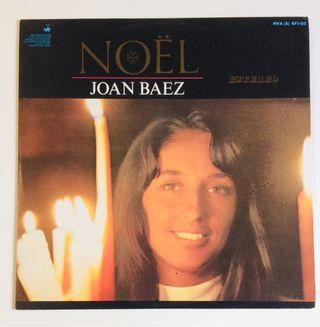JOAN BAEZ : Noël Disco Vinilo Lp
