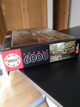 Puzzle Mercado de Basilea 6000 piezas