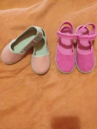 Zapatillas niña 29 y 30