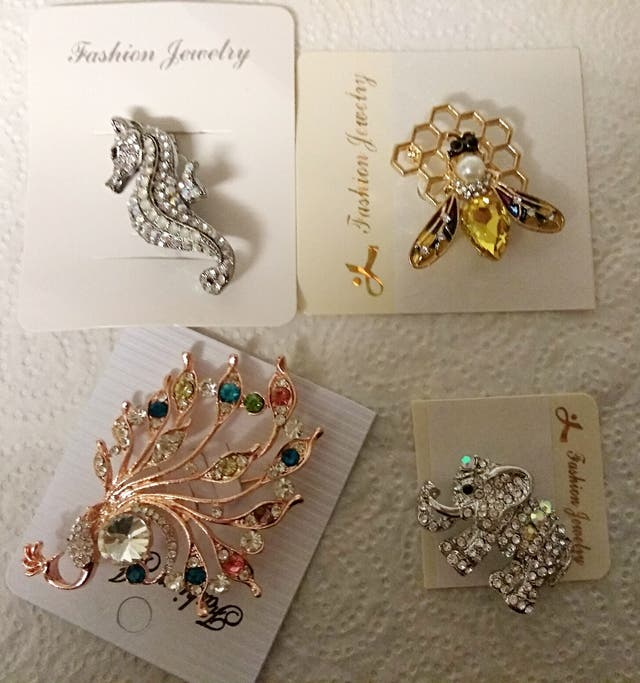 Brand new jewellery items