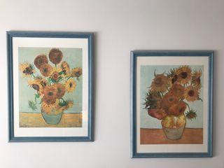 Cuadros de láminas ( Van Gogh)