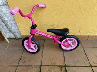 Bicicletas de apredizaje chico color rosa