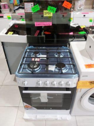 cocina de gas butano y ciudad nueva