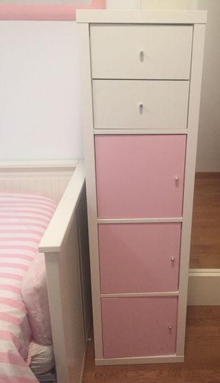 Mueble IKEA . Habitación niña