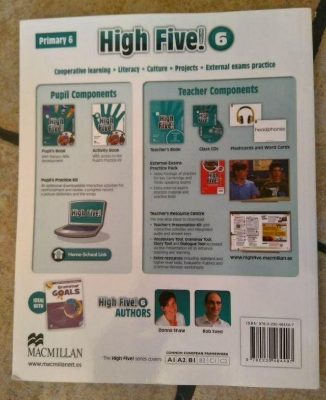 Libros inglés 6° Primaria