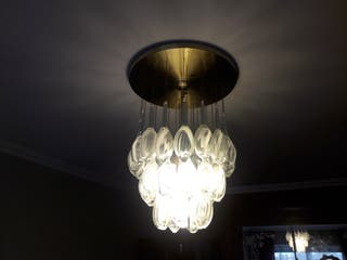 en mano WALLAPOP Lámparas de de cristal segunda Pinto en N8OPn0wkX