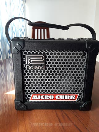 amplificador guitarra micro cube