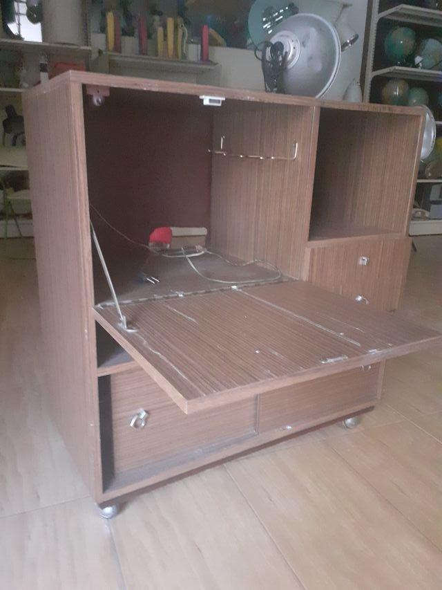 mueble bar tv vintage