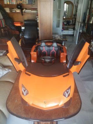 Lamborghini Gallardo De juguete para niños de 2 a 8 años electrónico. 12V